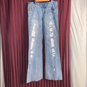 Parasuco distressed jeans